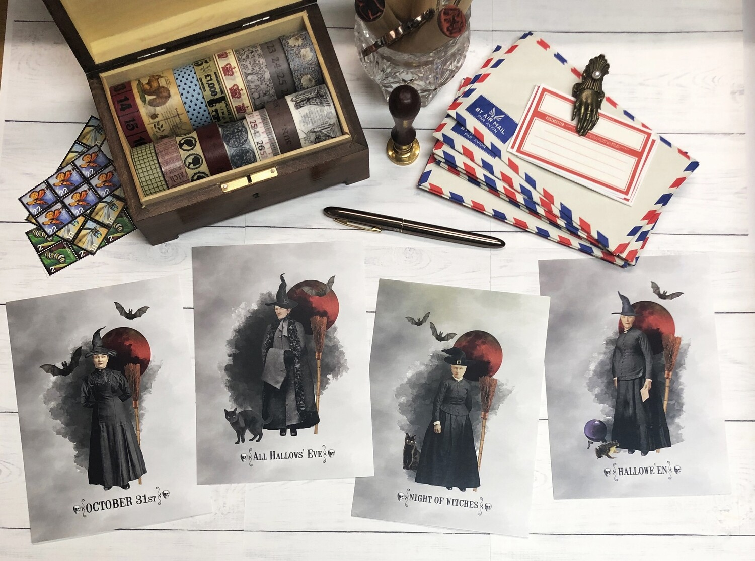 Witches Postcards