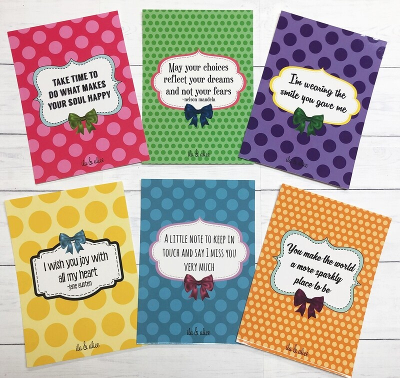 Friendship Quote Postcards
