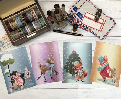 Winter Wonderland Postcards