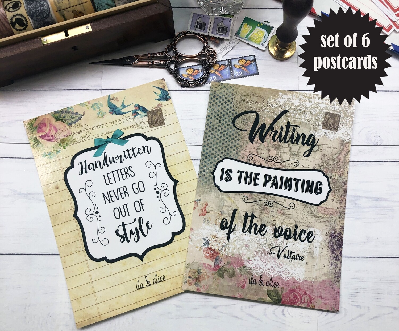 Snail Mail Enthusiast Postcards