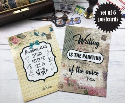 Snail Mail Enthusiast Postcards