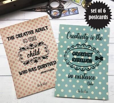 Creative Soul Postcards
