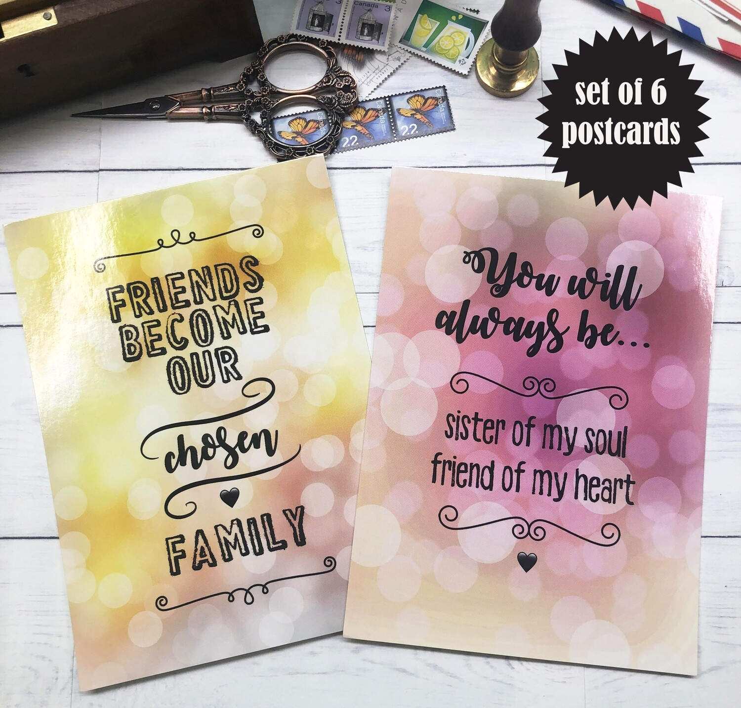 Friendship Postcards
