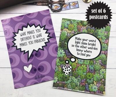 Weirdo Postcards