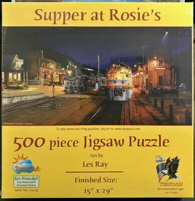 Supper at Rosie's - Jigsaw Puzzle 500pcs - SunsOut