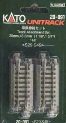 KATO - 20-091 N Scale Track Asst 29mm