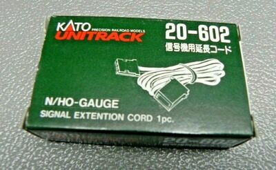Kato HO/N Scale 20-602 Unitrack Signal Extention Cord 1pc.