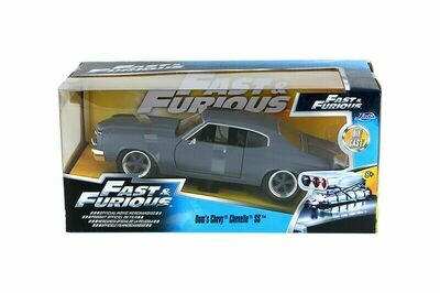 Jada Toys Fast & Furious - Dom's Chevy Chevelle SS Hardtop (1970, 1/24 scale)