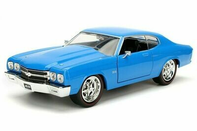 Chevy Chevelle SS Hardtop 1970, 1/24 scale diecast model car (2-colors)