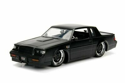 Bigtime Muscles Buick® Grand National™ Hard Top (1987, 1/24 scale Black-Boxed)