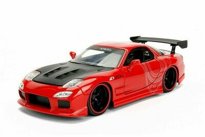 JDM Tuners™ Mazda RX-7 Hard Top (1993, 1/24, diecast model car (Red)