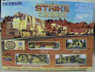 HO Scale STRIKE FORCE TRAIN SET