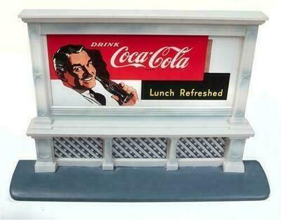 Classic Metal Works Billboard (Coca-Cola) 1:87 HO Scale
