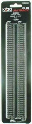 KATO - 20000 N Scale 248mm Straight Track (4pk)