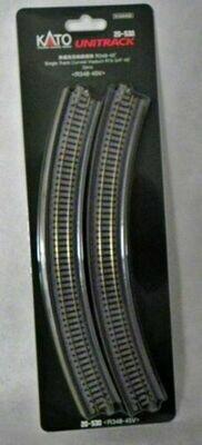 KATO - 20-530 N Scale R348-45 Curve Viaduct Track