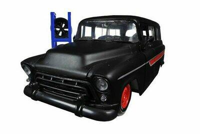 Jada Just Trucks - 1957 Chevy® Suburban™ (Primer Black/Red),