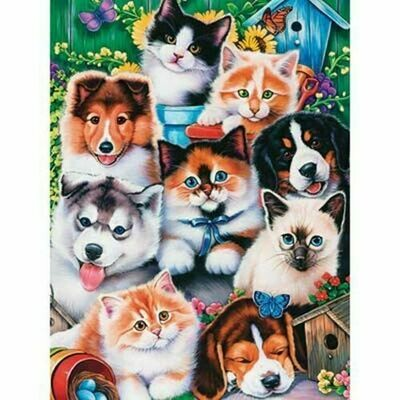 Masterpieces Pet Pals 300 pcs EZ-grip puzzle