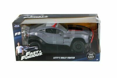 Fast & Furious - Letty's Rally Fighter (Gray w/Red)