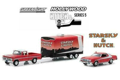Starsky and Hutch (TV Series, 1975-79) 1972 Ford F-100 with 1976 Ford Gran Torin