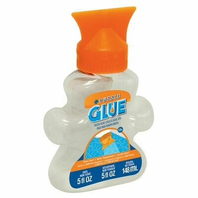 Masterpieces Puzzle Piece Shaped Glue Bottle w/Easy to Use Applicator 5-Ounce