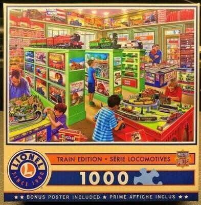 Lionel Trains - The Lionel Store - 1000 Pcs Jigsaw Puzzle