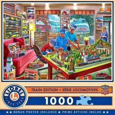 Lionel Trains - The Boy's Playroom- 1000 Pcs Jigsaw Puzzle