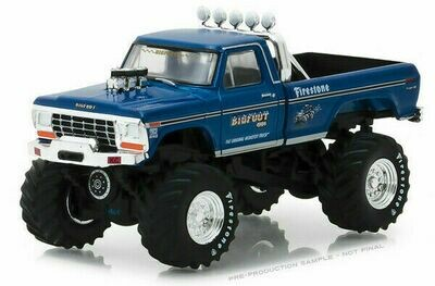 BIGFOOT#1 The Original Monster Truck Ford F-250 Pickup -1974 -1/64 Scale
