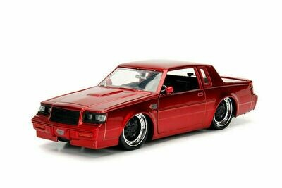 Bigtime Muscles Buick - Grand National' Hard Top - 1987, 1/24 scale die (Red-Boxed)