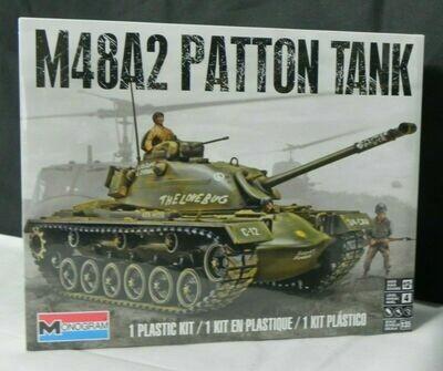 Monogram M48A2 Patton Tank - Plastic Model Kit