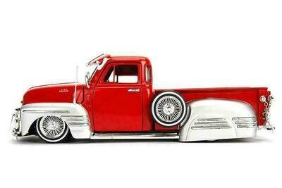 Jada Toys - Metals Die Cast Just Trucks   Chevy Pickup (1951, 1/24 scale diecast