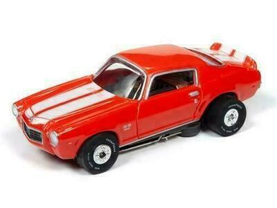 Auto World Thunderjet R28 1970 Chevrolet Camaro (Orange)