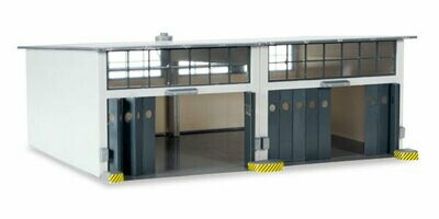 Building Set - 2-Stall Repair Facility-HO Scale