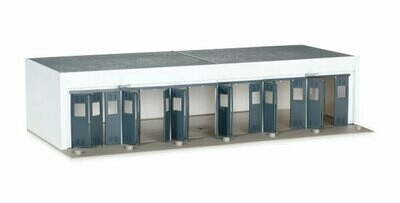Building set - service garage - HO Scale