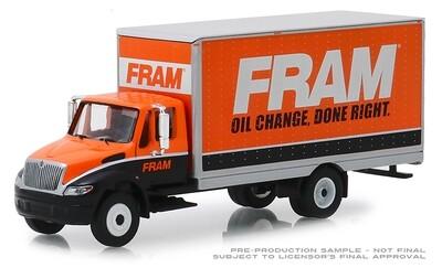 Greenlight - FRAM Oil Filters - 2013 International Durastar Box Van - Limited Edition 1:64 Scale.