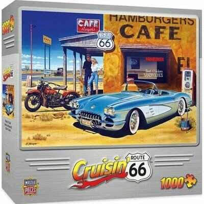 CRUISIN' ROUTE 66 - CAFE Route. 66 1000 PIECE JIGSAW PUZZLE