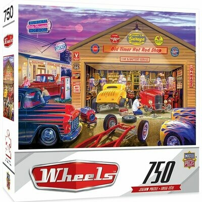 Wheels - Old Timer Hot Rods 750 Pcs Jigsaw Puzzle