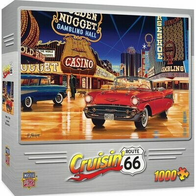 CRUISIN' GAMBLIN' MAN 1000 PIECE JIGSAW PUZZLE