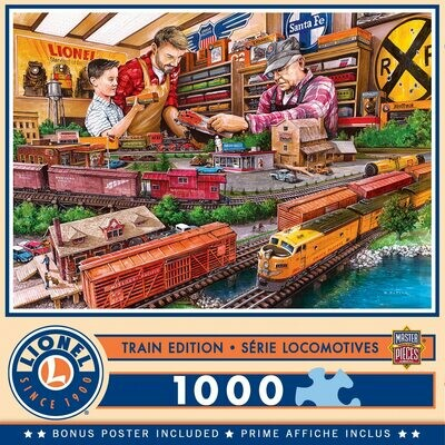 Lionel Trains - The Shopping Spree - 1000 Pcs Jigsaw Puzzle