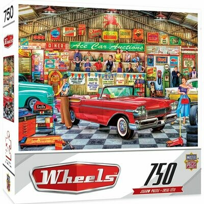 Wheels - The Auctioneer 750 Piece Jigsaw Puzzle