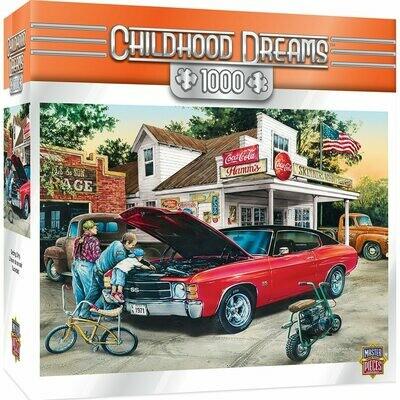 CHILDHOOD DREAMS GETTING DIRTY -1000 PIECE JIGSAW PUZZLE BY DAN HATALA