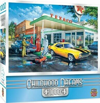 CHILDHOOD DREAMS POP'S QUICK STOP -1000 PIECE JIGSAW PUZZLE BY DAN HATALA