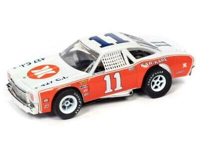 AUTO WORLD XTRACTION R31 1973 CHEVROLET CHEVELLE - KAR-KARE - CALE YARBOROUGH HO SCALE SLOT CAR