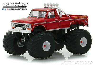 Greenlight - Kings of Crunch 3 - 1979 Ford F-250 Monster Truck - God of Thunder Pkg.