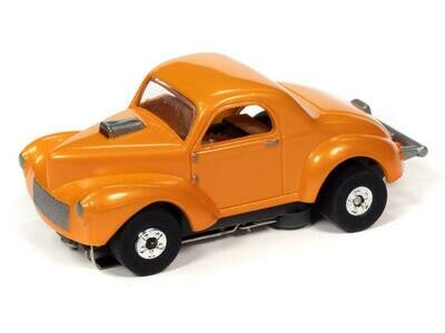 Auto World Thunderjet R31 1941 Willys Coupe Gasser (Orange)