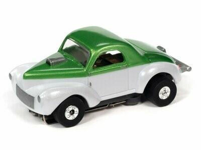 Auto World Thunderjet R31 1941 Willys Coupe Gasser (Green/White)