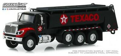 Greenlight - 1-64 SD Trucks 8 - 2018 Intl WorkStar Tanker Truck - Texaco