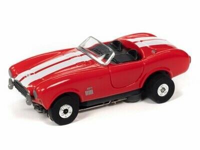 Auto World Thunderjet R31 1965 Shelby Cobra (Red) HO Scale Slot Car