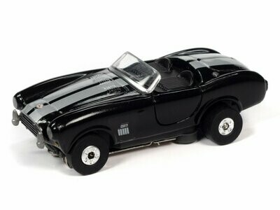 Auto World Thunderjet R31 1965 Shelby Cobra (Black) HO Scale Slot Car