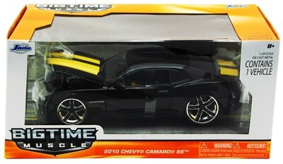 2010 Chevy Camaro SS Hard Top 1:24 scale - Black
