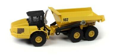 Classic Metal Works Traxside Heavy Duty Dumper (Yellow) 1:87 HO Scale